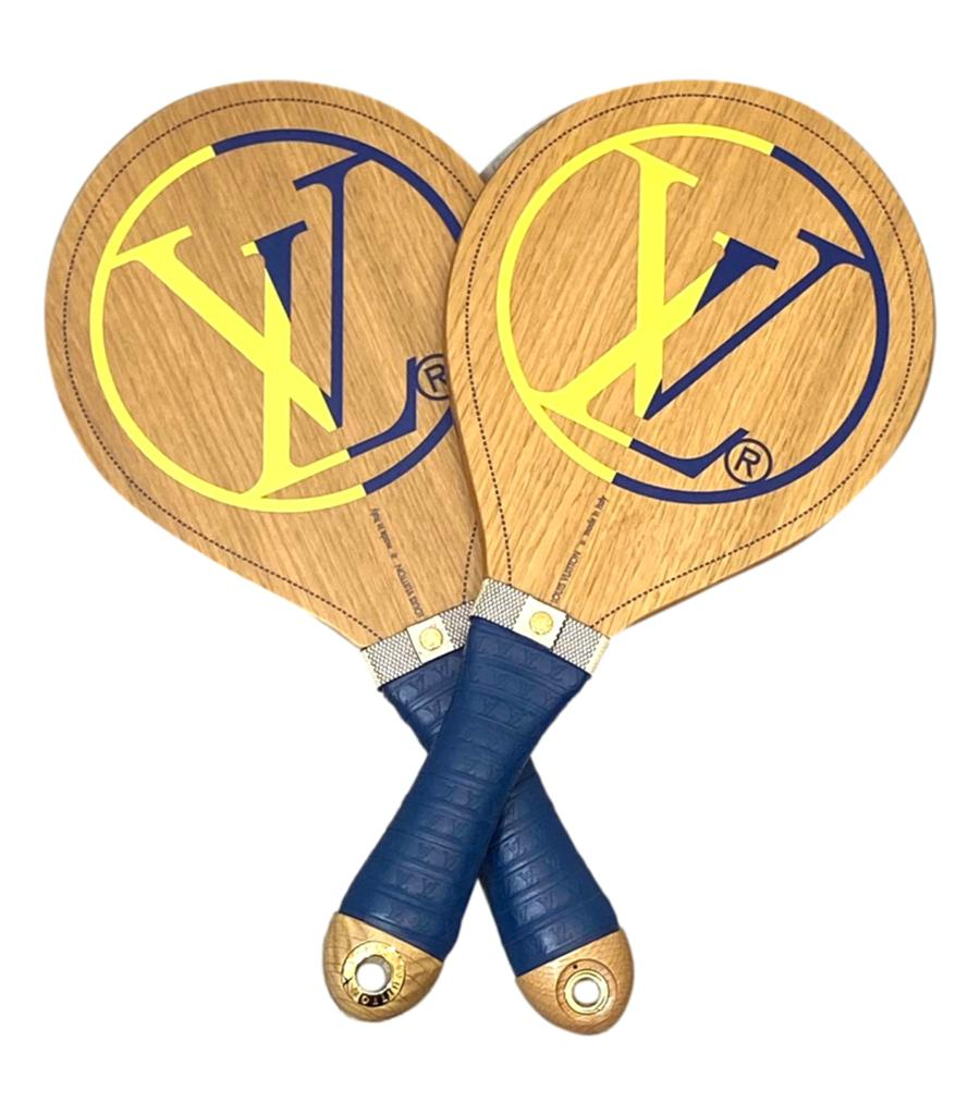 Louis Vuitton Wooden Beach Bats