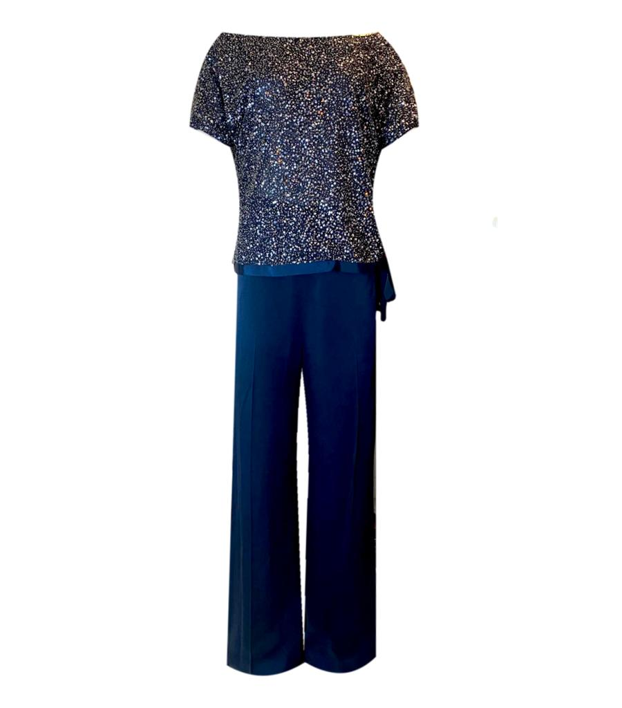Jenny Packham Top/Trouser Ensemble. Size 14UK
