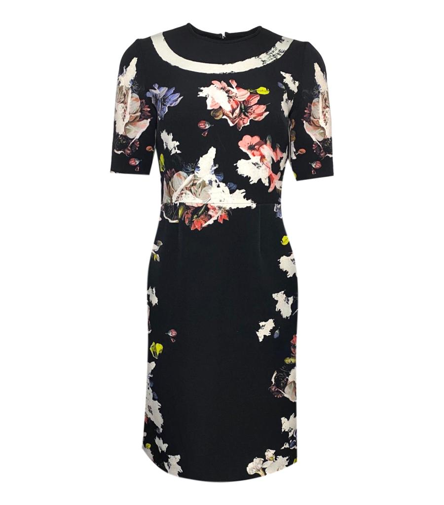 Erdem Floral Dress. Size 10UK