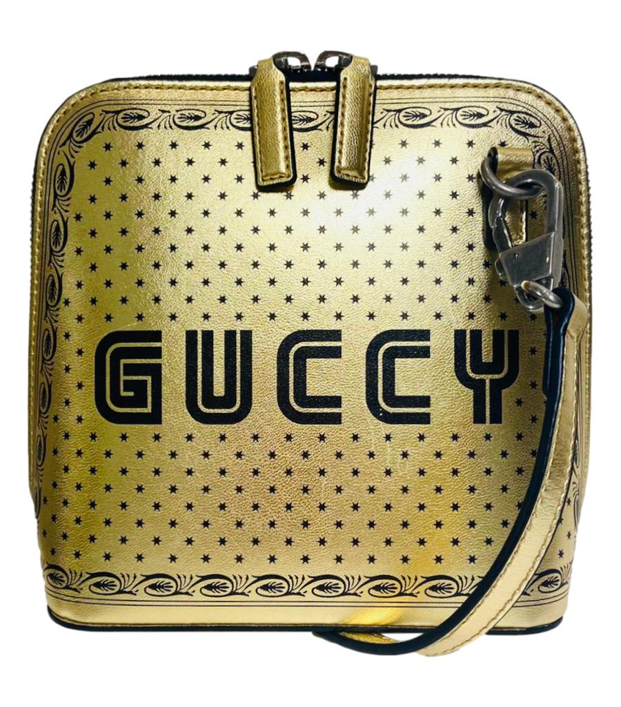 Gucci 'Guccy' Leather Crossbody Bag