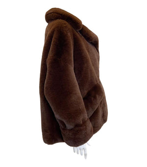 The Kooples Faux Fur Teddy Coat. Size M/L