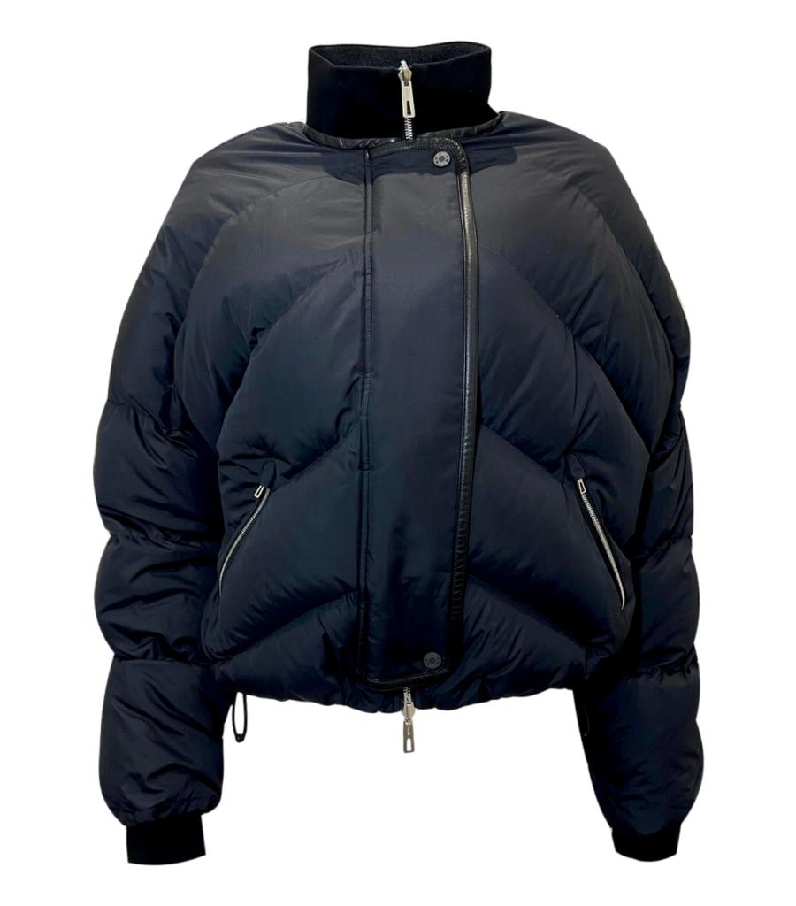 Hermes Reversible Goose Down Puffer Jacket. Size 38FR
