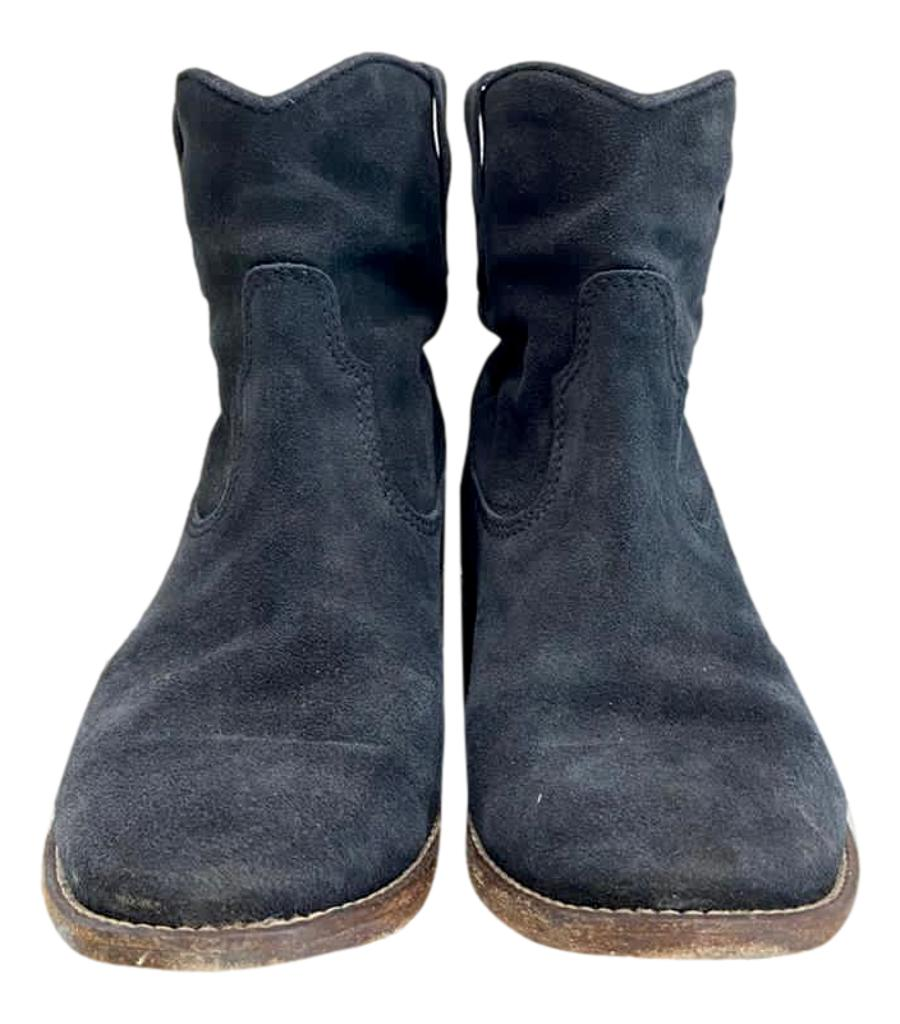Isabel Marant Suede Ankle Boots. Size 37