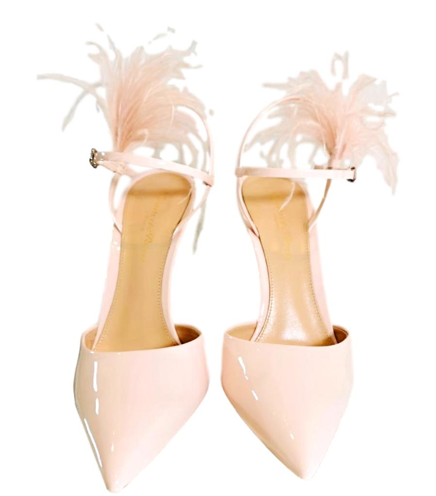 Gianvito Rossi Blush Pumps. Size 36