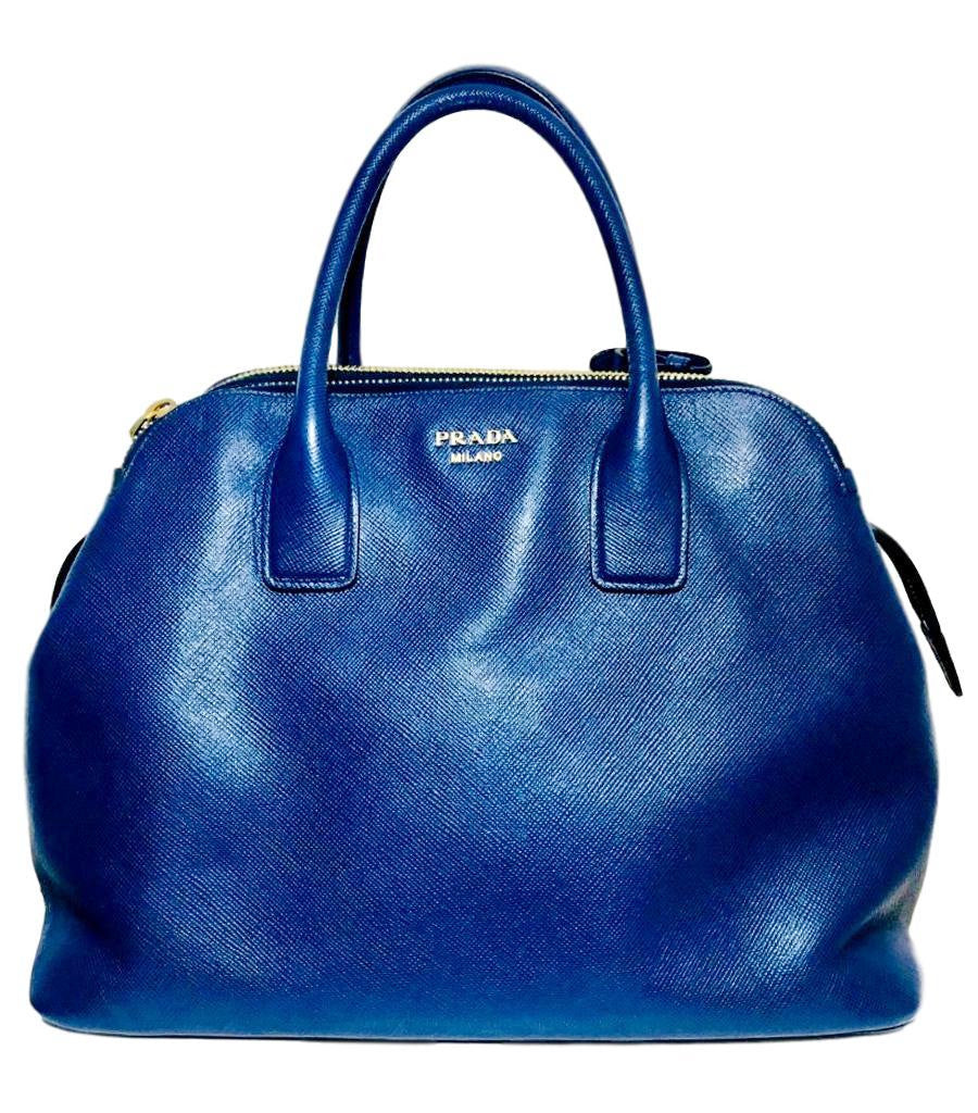 Prada Leather Shopper Bag