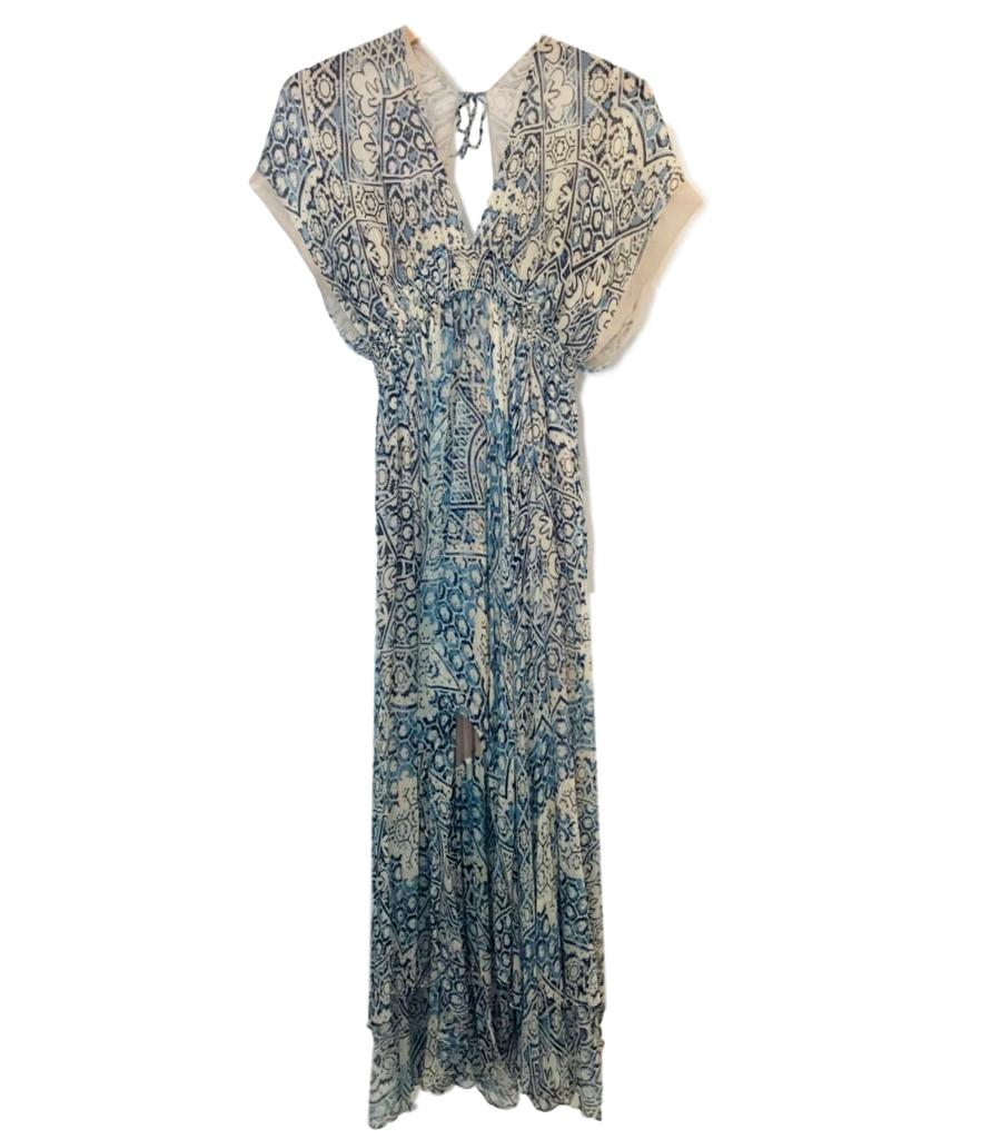 Mes Demoiselles Maxi Printed Dress. Size 40IT