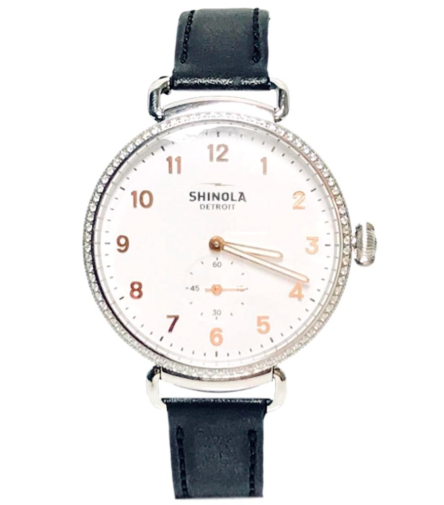 Shinola Diamond Watch