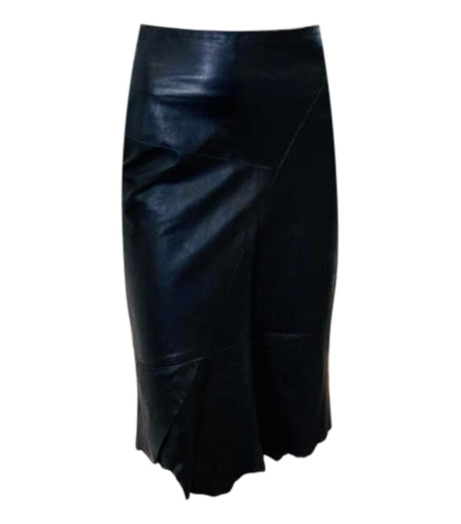 Alexander Campbell Leather/ Suede Skirt. Size 1