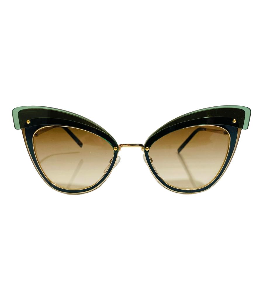 Marc Jacobs Cat Eye Sunglasses