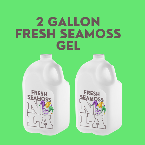 Fresh Seamoss Gel - 2 Gallons