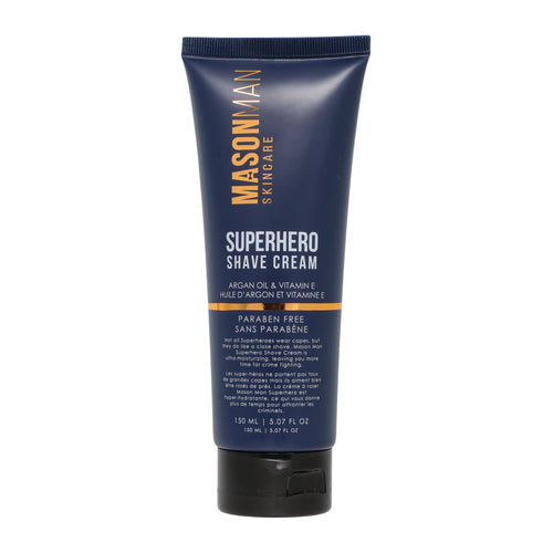 SUPERHERO SHAVE CREAM - BLUE PACKAGING