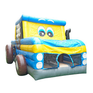 Fun Car multi play Hüpfburg 6,6 x 3,6 x 3,3m