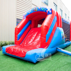 It's Party Time multi play/Hindernislauf Hüpfburg 8,5 x 2,85 x 3,3m