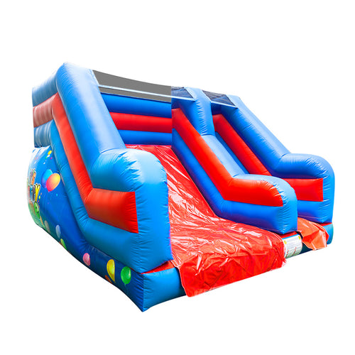 It's Party Time Rutsche mit Kletterntreppen 3,6 x 3,6 x 2,6m