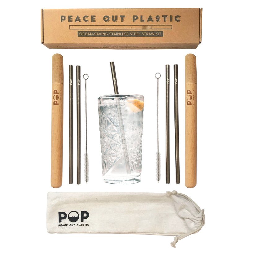 Stainless Steel Straws and Accessories