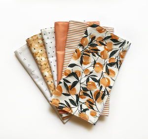 Reusable 3ply Cotton Paper Paperless Towels | Eco-friendly Zero Waste Gift | Fall Autumn Harvest Set