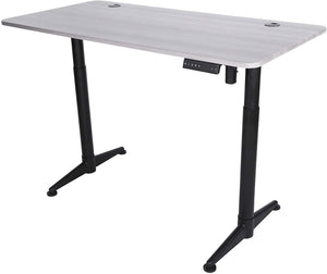 "ApexDesk Vortex Series 55"" Electric Height Adjustable Sit to Stand Desk"