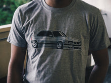 Load image into Gallery viewer, 8-bit Slammed E36 T-Shirt - Silver