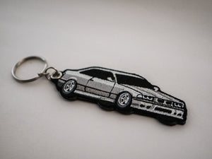 E36 M3 Embroidered Keychain