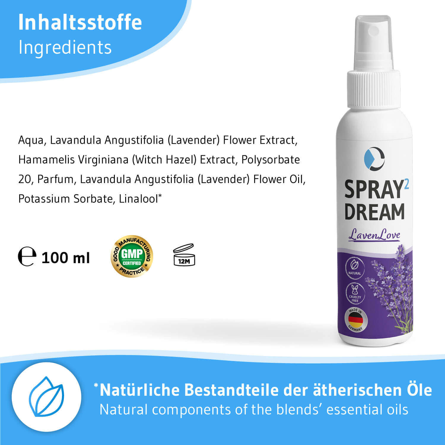 SPRAY² Dream LavenLove Aroma-Kissenspray