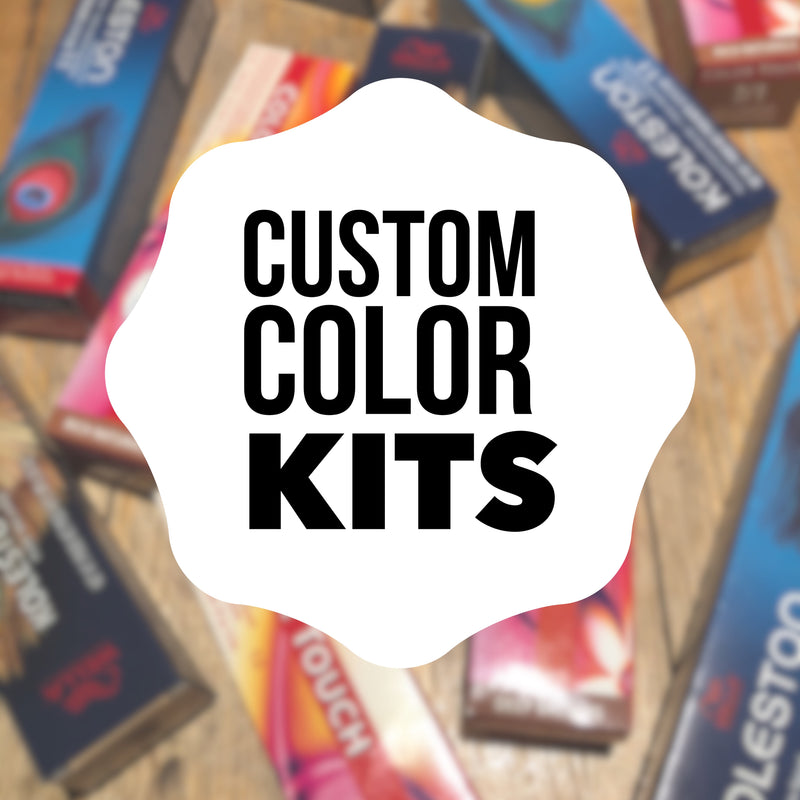 Customized All Over Color Kit