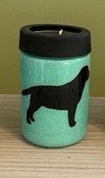 Can Cooler - Black Dog Silhouette