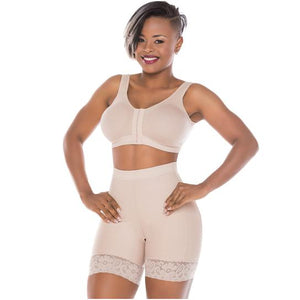 Fajas Salome 0319 High Waist Butt Lifter Compression Shaper Shorts - ImSoCheeky