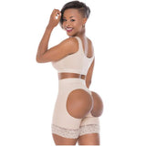 0319 High Waist Butt Lifter Compression Shaper Shorts - ImSoCheeky