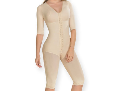 Short Sleeve Full Body Post Surgery Shaper Item: 0161 - ImSoCheeky