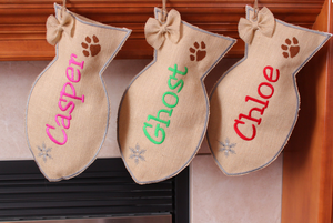 Cat stocking Personalized, Fish Stocking for Cat
