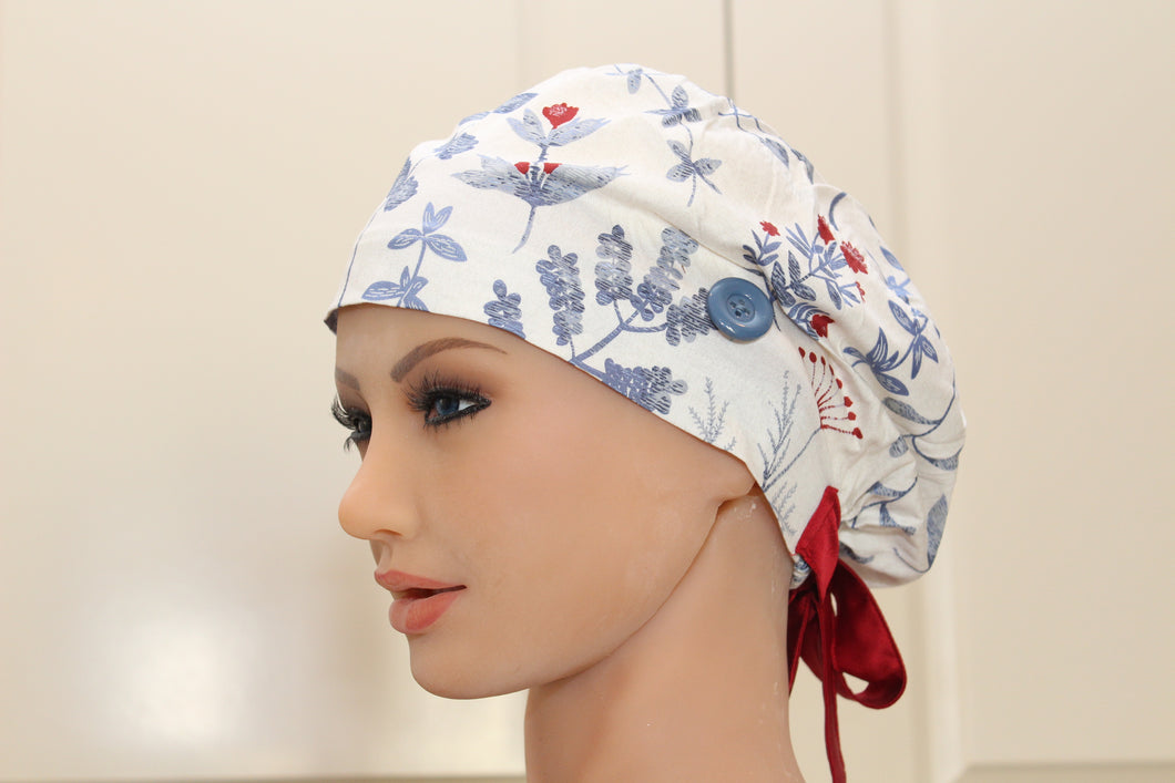 Scrub Cap for Women, Nurses, Doctors, Medical Students, Princess Peace
