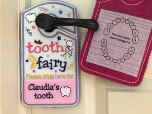 tooth chart, Tooth fairy pillow alternative, tooth fairy please stop here