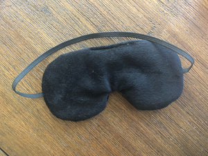 Custom Fuck Off Eye Mask Black with Red Lettering, Father's Day Gift, Christmas Gift for Him