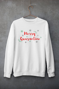 2020 Christmas Sweatshirt, Merry Quarantine Shirt