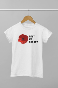 Red Poppy Remembrance Veteran Day T-Shirt Unisex Shirt