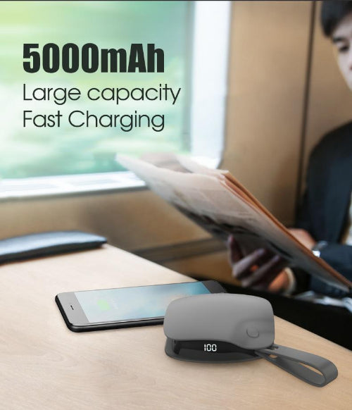 New Pocket Hand Warmer Heater USB Charger Electric Rechargeable 5000mAh Power