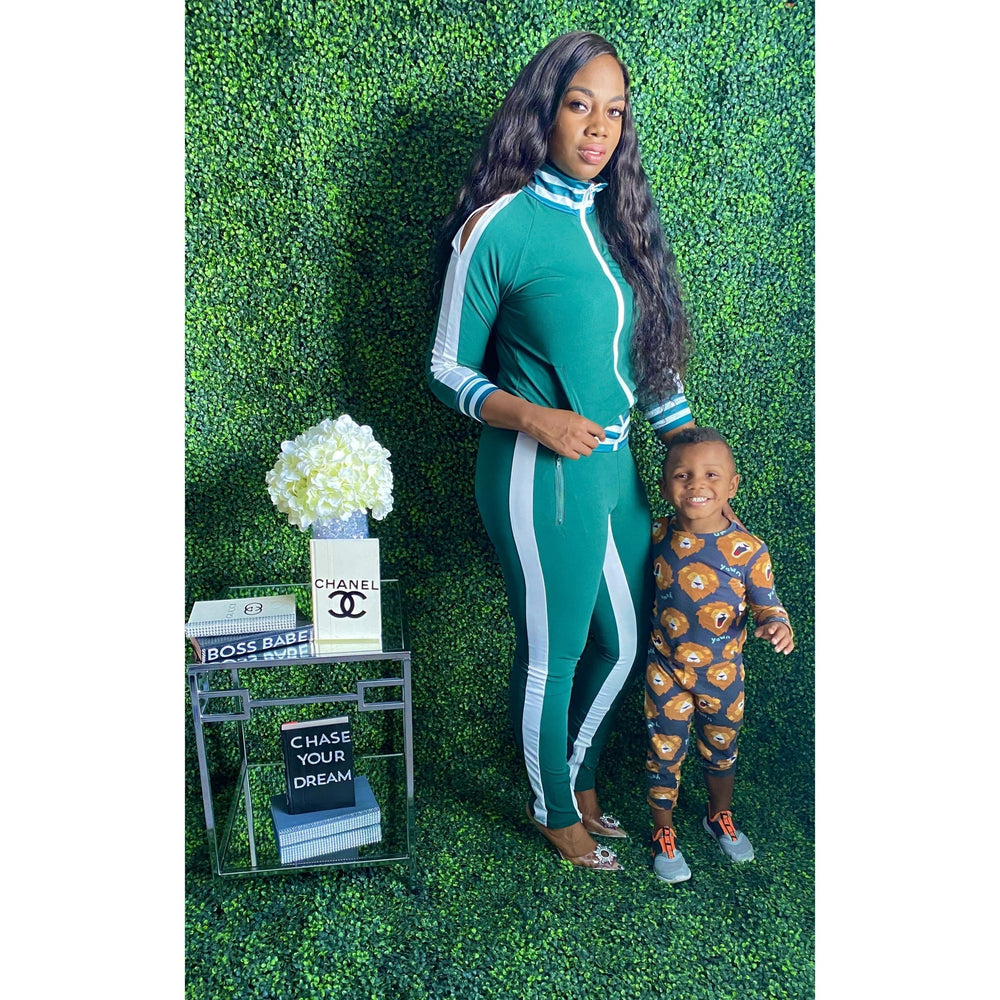 You got it girl Tracksuit Green - JC's Boutique