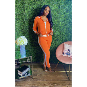 You got it girl Tracksuit Orange - JC's Boutique