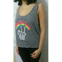 Polo Tank Top Billabong Mujer No Money - Gris