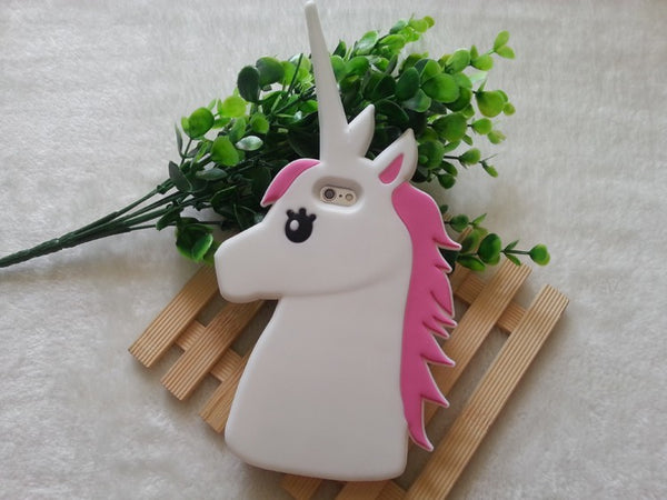 Case Funda Protector Celular Iphone 5 5s 6 6s Unicornio