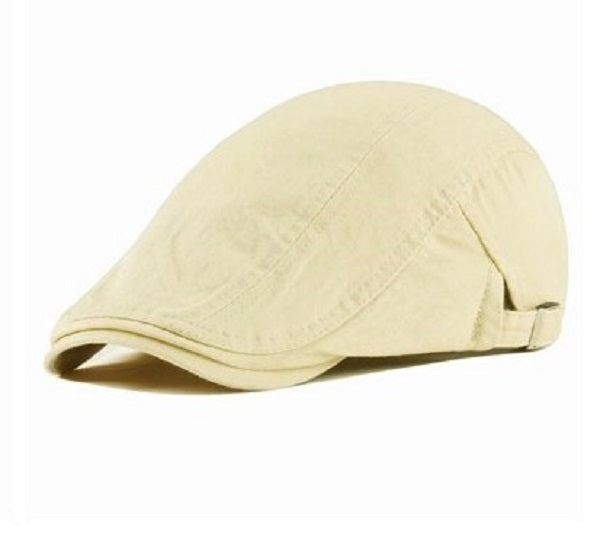 Gorra Boina Unisex Correas Laterales Kast Store Drill Beige