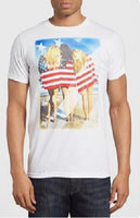 Polo Hombre American Bowery Supply L - Blanco