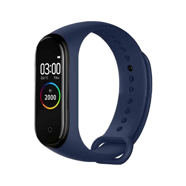 Smart Band M4 Reloj Deportivo Pulsera Inteligente Bluetooth - Azul