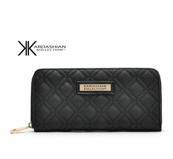 Billetera Kardashian Kollection Mujer - Negro