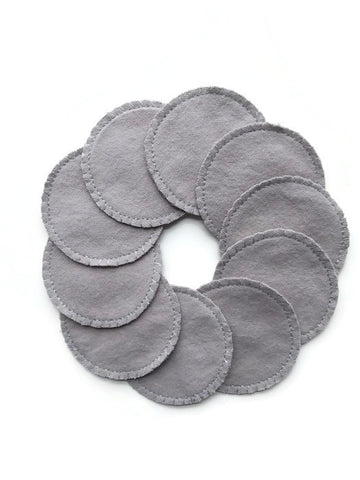 Gray Cotton Rounds | 10 Pack