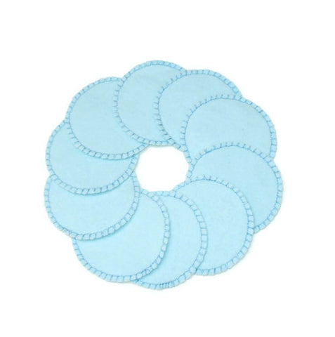Baby Blue Cotton Rounds