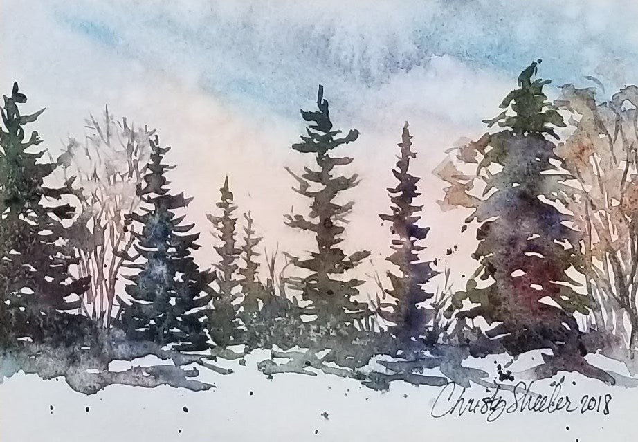 Awakening Of A Winter Day