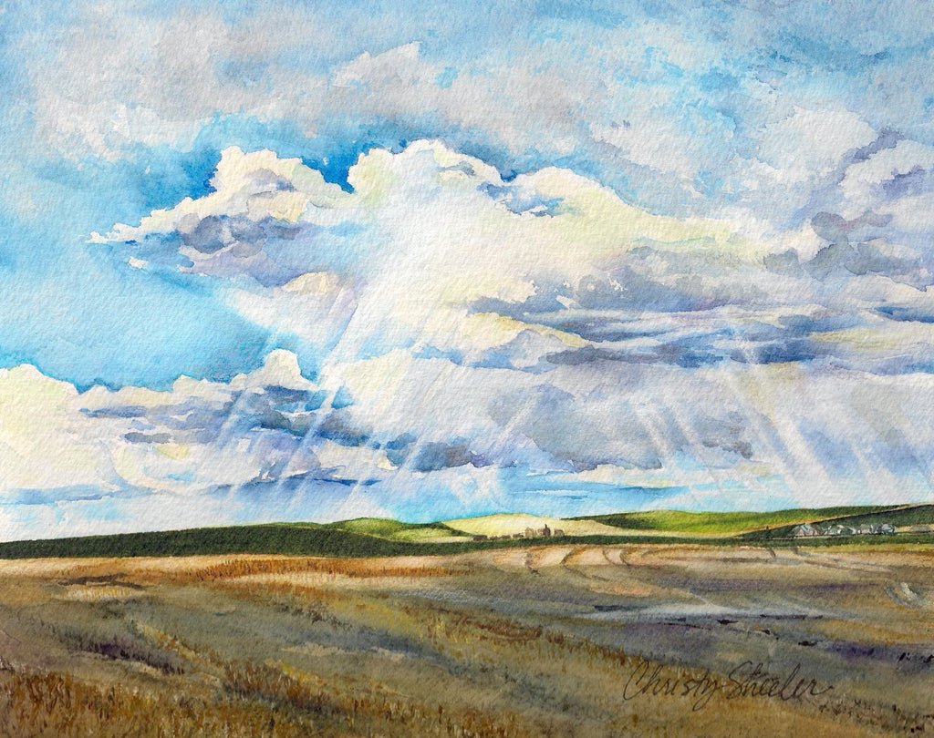 Big Sky Farmlands No. II