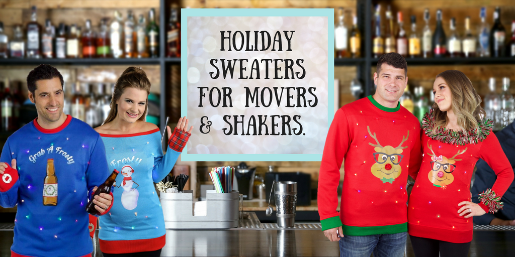 Ugly Christmas & Hanukkah Sweaters