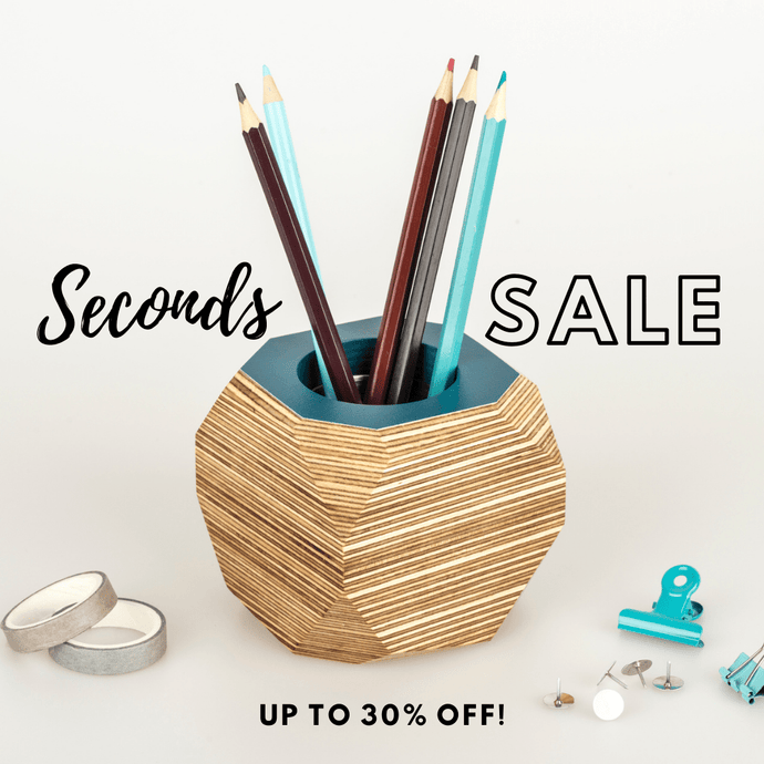 Priormade Geo Vessel CHRISTMAS SALE 30% OFF  - Geo | Vessels - top painted (various colours)